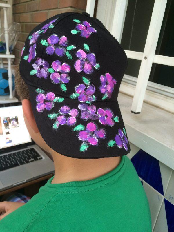 Gorra pintada