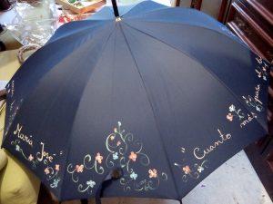 Paraguas pintado
