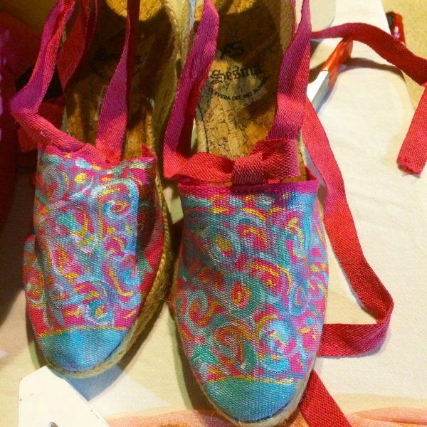 zapato pintado