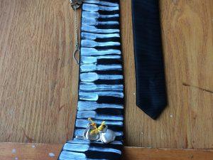 Corbata pintada