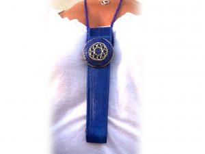 Abaniquera Azul