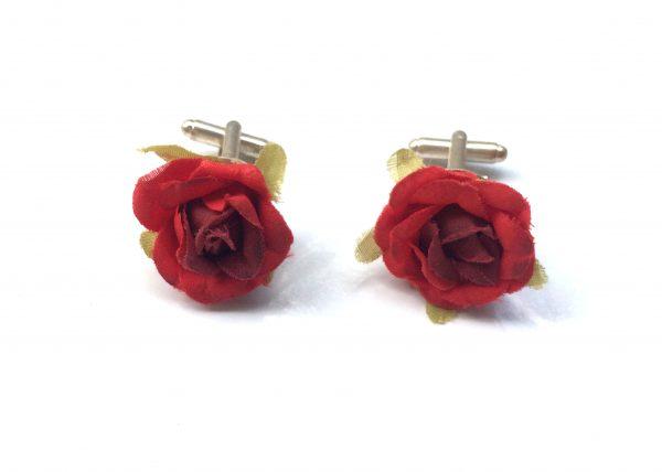 Gemelos Rojo Flor